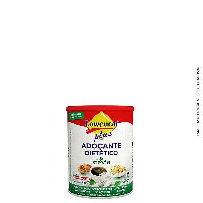 Adoçante Plus com Stevia em Pó 500g - Lowçucar