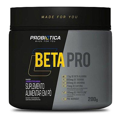 Beta Pro Pré Treino 200g - Probiótica