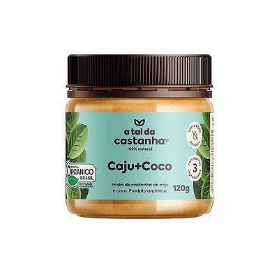 Pasta de Castanha Caju+Coco Orgânica 120g - A tal da Castanha