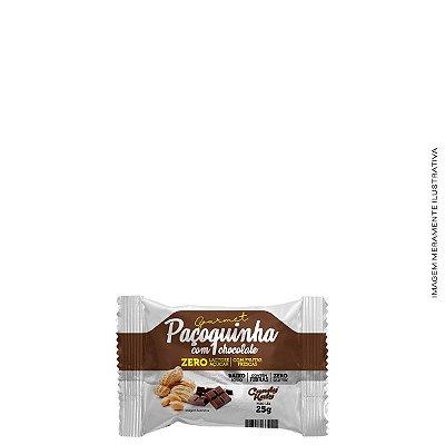 Paçoquinha com Chocolate Zero Açúcar 25g - Candy Katy