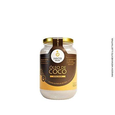 Óleo de Coco Extravirgem Película 500ml - Santo Óleo