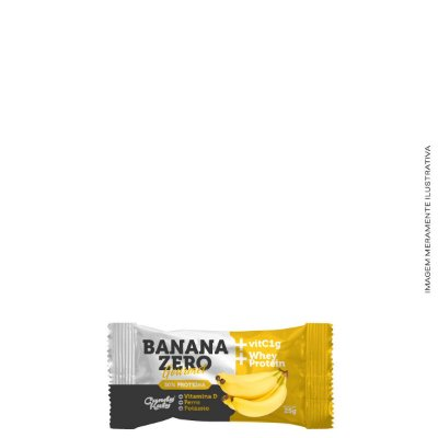 Banana Zero com Vitaminas A,C,D,E e ZINCO 20G - Candy Katy