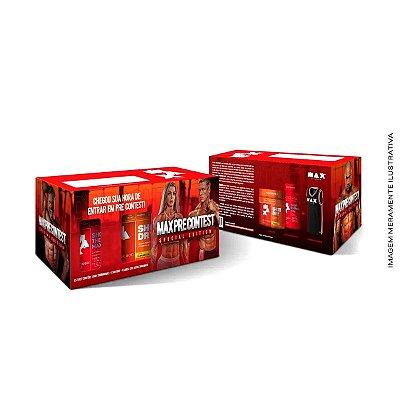 Pre Contest Pack - Max Titanium1 Shot Dry Maracujá + 1 Shot Thermo Max + 1 Regata