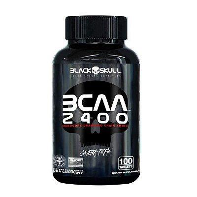 Bcaa 2400 - 100 Tabletes - Black Skull