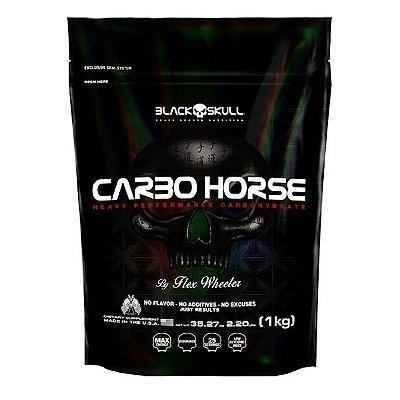 Refil Carbo Horse 2,2Lbs 1Kg - Black Skull