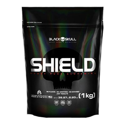 Shield 1Kg  Glutamina - Black Skull