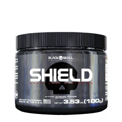 Shield 100g Glutamina - Black Skull