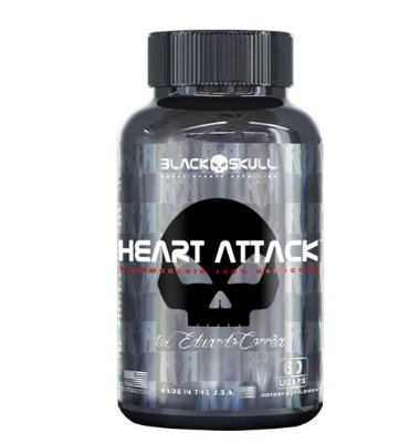 Heart Attack  60 cápsulas - BLack Skull