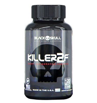 Killer2F - 120 cápsulas - Black Skull