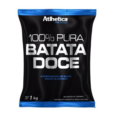100% Pura Batata Doce Pro Series - 1kg - Atlhetica