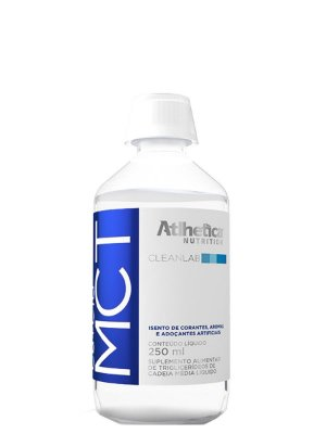 MCT 3 Gliceril - 250ml - Atlhetica