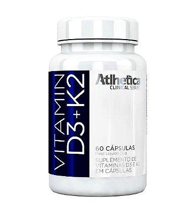 Vitamin D3+K2 - 60 Cápsulas - Atlhetica
