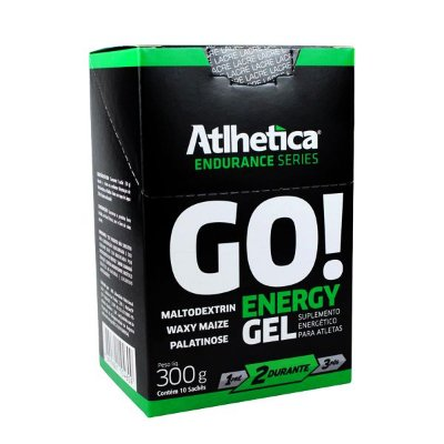 Go Energy Gel (Display com 10 Sachês de  30g) - Atlhetica