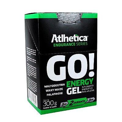 Go Energy Gel (Display com 10 Sachês de  30g) - Atlhetica