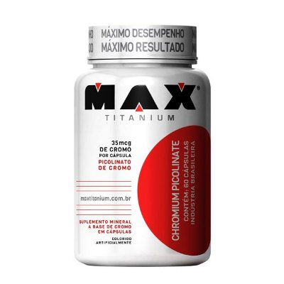 Chromium (Cromo) Picolinate 60 Cápsulas - Max Titanium