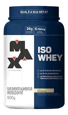 Iso Whey - 900g - Max Titanium