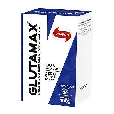 Glutamax (Caixa com 20 Saches de 5g) 100g - Vitafor
