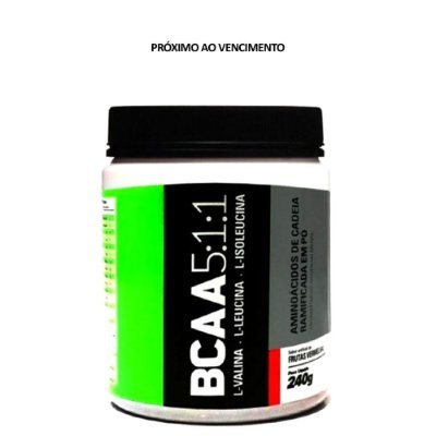 Bcaa 5:1:1 240g - Sports Nutrition