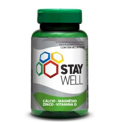 Zma 60 Cápsulas Stay Well - Sports Nutrition
