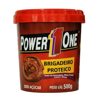 Pasta de Amendoim Brigadeiro Proteico 500g - Power One