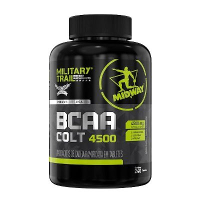 BCAA Military Trail Colt Ultra - 240 Capsulas - Midway USA