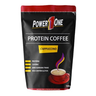 Protein Coffee Café Proteico 100g - Power One