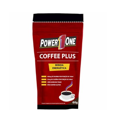 Coffee Plus Bebida Energética 60g - Power One