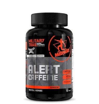 Military Trail Alert Caffeine - 90 Caps - Midway USA