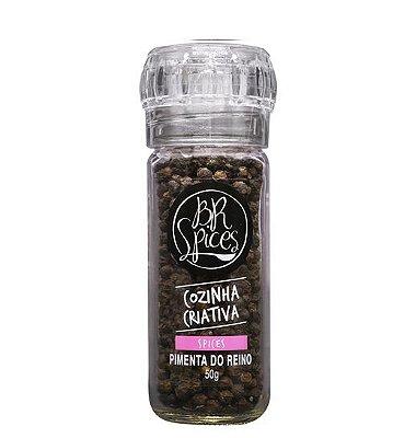 Moedor Pimenta Preta - 50g - Br Spices