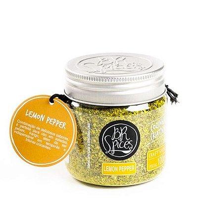 Pote Lemon Pepper - 100g - Br Spices