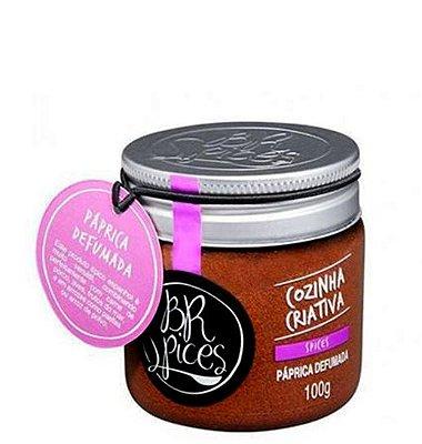 Pote Paprica Defumada - 100g - Br Spices