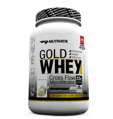 Gold Whey - 900g - Nutrata