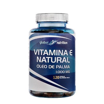Vitamina E Natural 120 Cápsulas - Global Nutrition