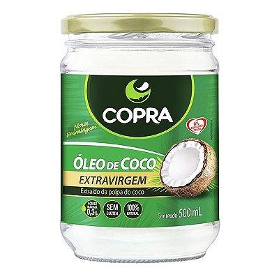 Óleo de Coco Extravirgem 500ml - Copra Coco