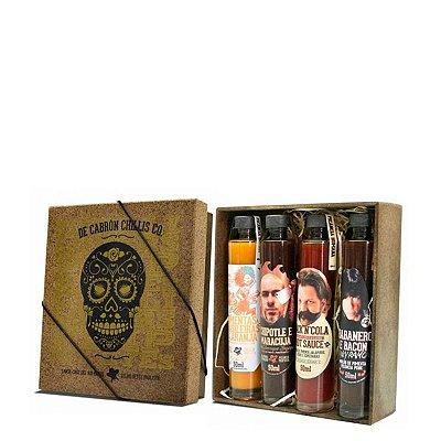 Kit Caixa de Molhos Assinados - De Cabron