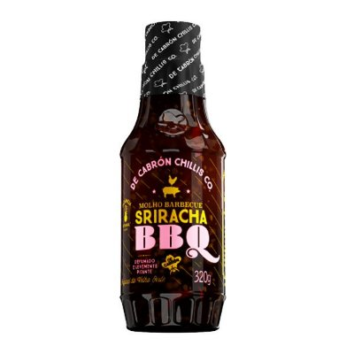 Molho Barbecue Sriracha BBQ 320g De Cabrón