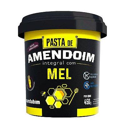 Pasta de Amendoim com Mel - 450g - Mandubim