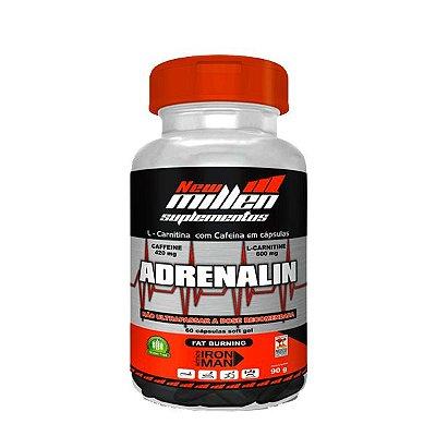 Adrenalin 60 Cápsulas Termogênico - New Millen