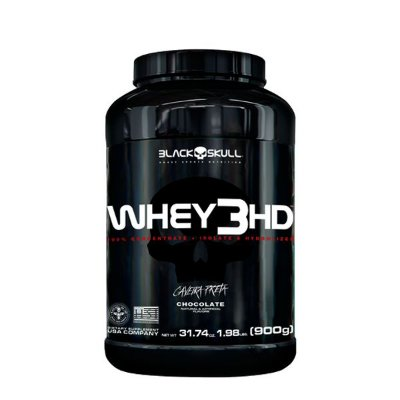 Whey 3hd - 900g - Black Skull