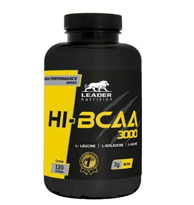 Hi Bcaa 3000 120 Tabletes Leader Nutrition
