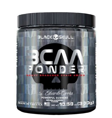 Bcaa Powder 300g Black Skull