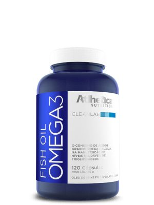 Omega3 Fish Oil 120caps Atlhetica