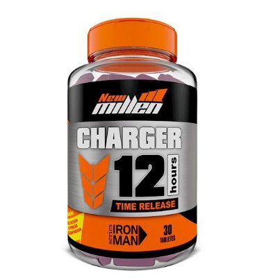 Charger 12hours Time Release 30tabletes New Millen