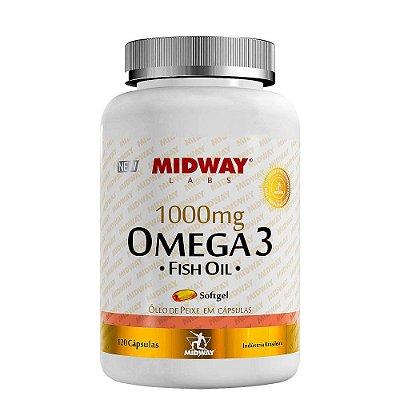 Omega 3 1000mg 120 cápsulas Midway