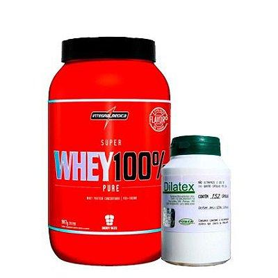 Whey 100% Pure 907g + Dilatex 152caps