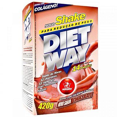 Shake Para Redução de Peso Diet Way 420g Midway