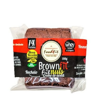 Brown Fit Creme de Avelã 100g Food4Fit