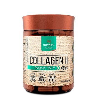 Colágeno Tipo II 60 Caps Nutrify