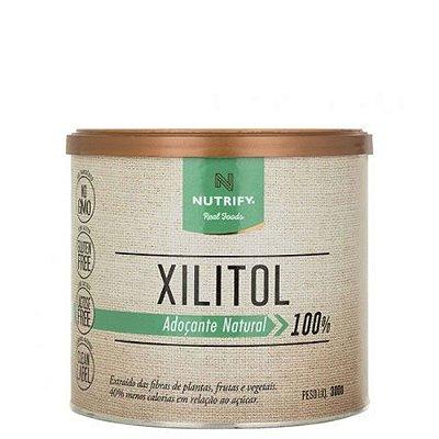 Xilitol Adoçante 100% Natural 300g Nutrify