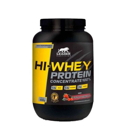 Hi Whey Protein 900g Leader Nutrition